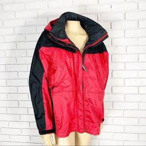 LL Bean Petite MOUNTAIN GUIDE Red GORE TEX Jacket